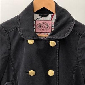 Juicy Couture Double Breasted Cropped jacket